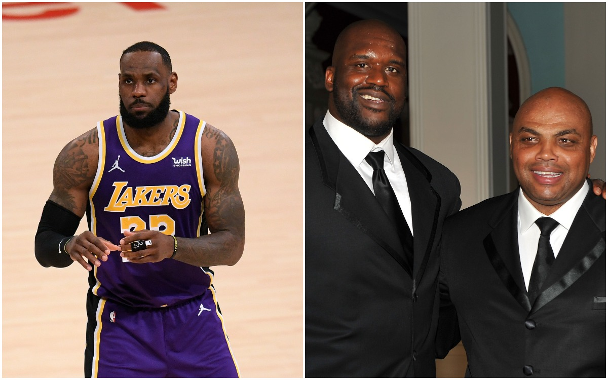 Uninhibited LeBron James Finally Reveals True Feelings About Shaquille O'Neal and Charles Barkley Bashing Players in TNT Documentary 'The Inside Story'