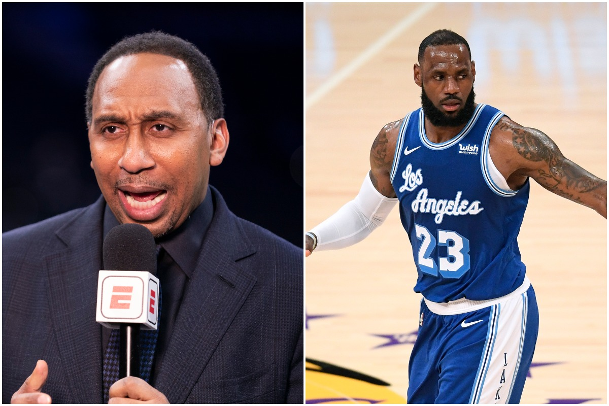 LeBron James, Stephen A. Smith, Lakers, NBA