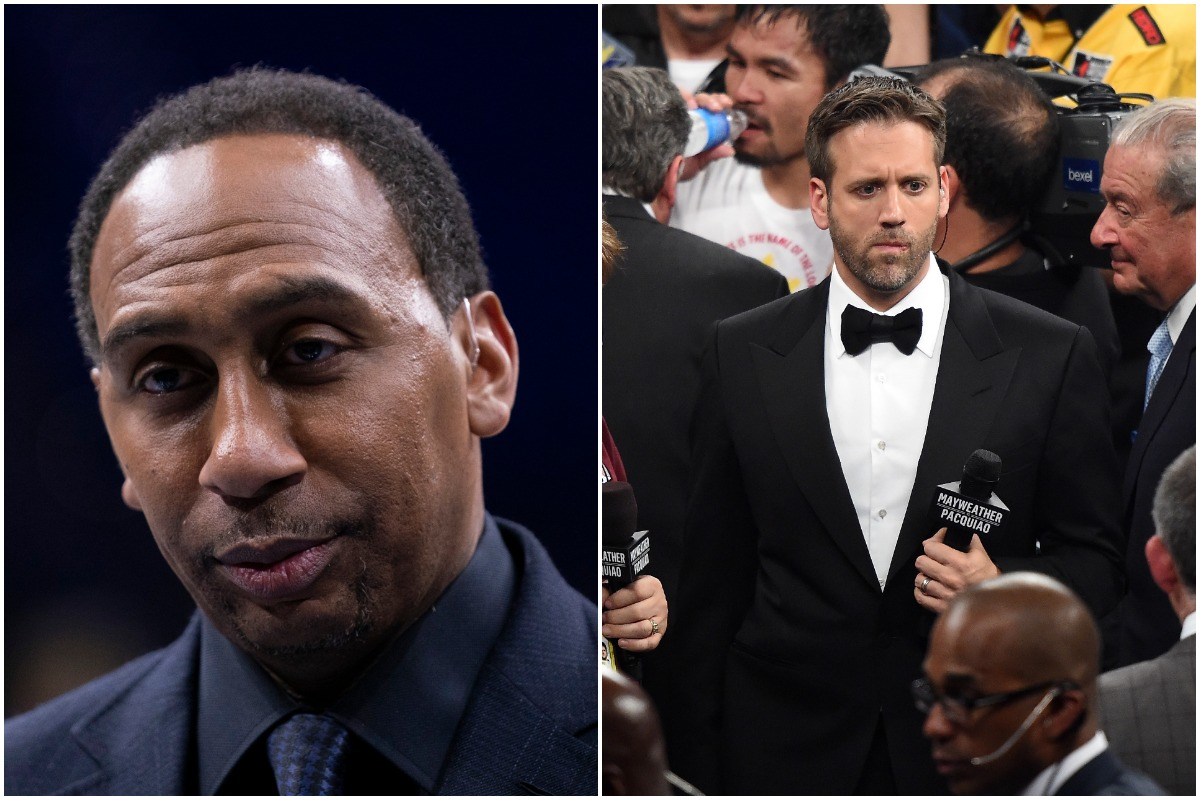 Stephen A. Smith Bursts Into Laughter and Rips Max Kellerman for His New York Giants Take: 'You Can Scratch That'