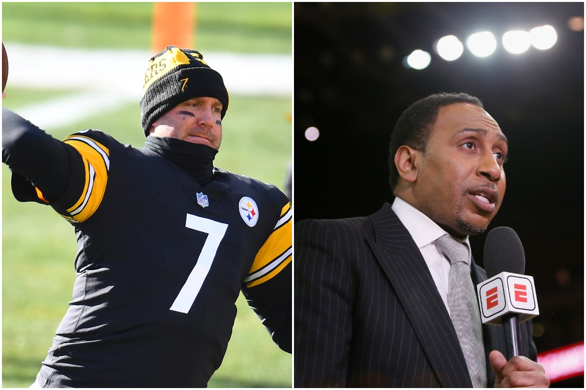 Stephen A. Smith Destroys Max Kellerman for His Ben Roethlisberger Take: 'Something the Hell Is Wrong With You'