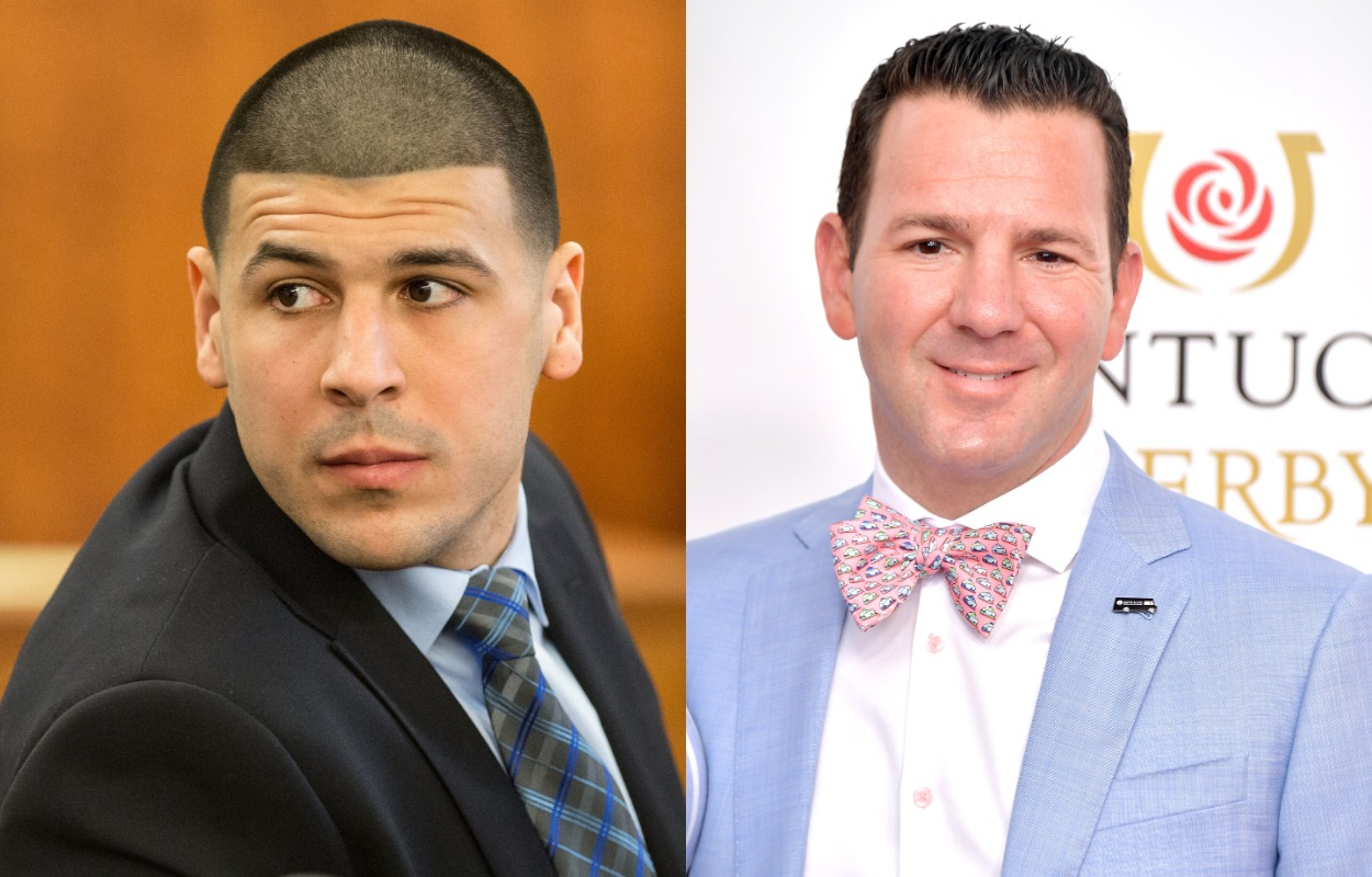 Former Patriots Tight End Aaron Hernandez Once Threatened to Murder Prominent NFL Reporter Ian Rapoport in Front of a Crowd