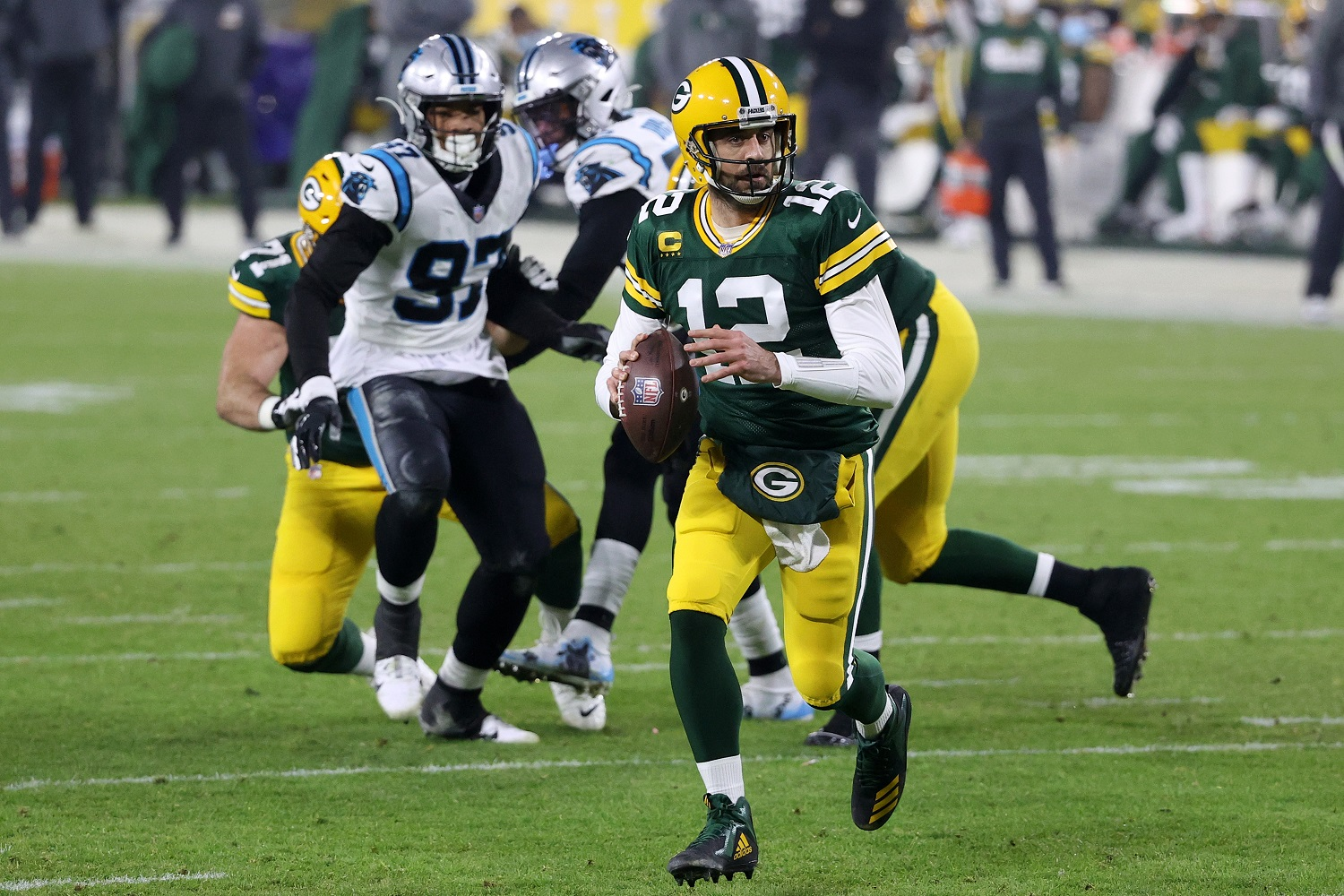 Green Bay Packers quarterback Aaron Rodgers is a backer behind the new OSDB.sports.com website.