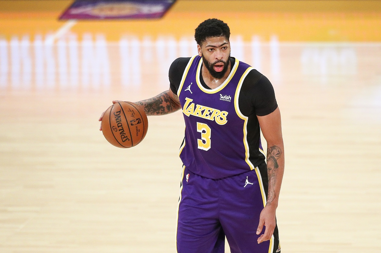 Lakers' Star Anthony Davis Unveils the Frightening Details of His Calf Injury
