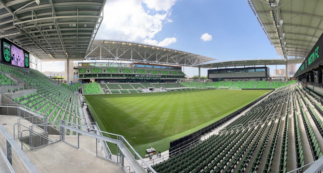 Austin FC will play in Q2 Stadium