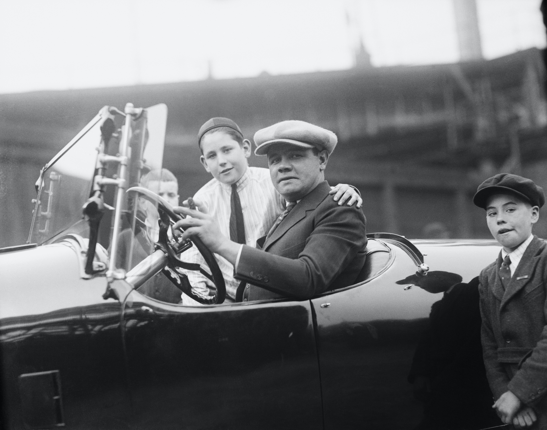 Babe Ruth Once Spent a Day in Jail Before Racing to the Ballpark in Time to Save Himself $500