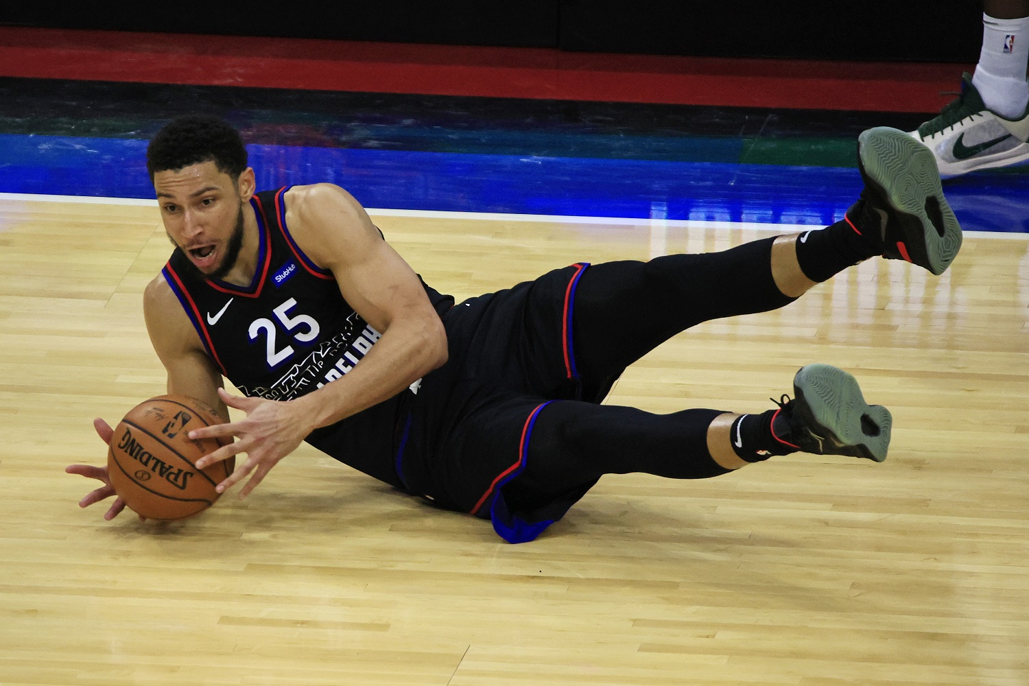 Former No. 1 draft pick Ben Simmons is in his fourth season with the Philadelphia 76ers. |  Corey Perrine/Getty Images