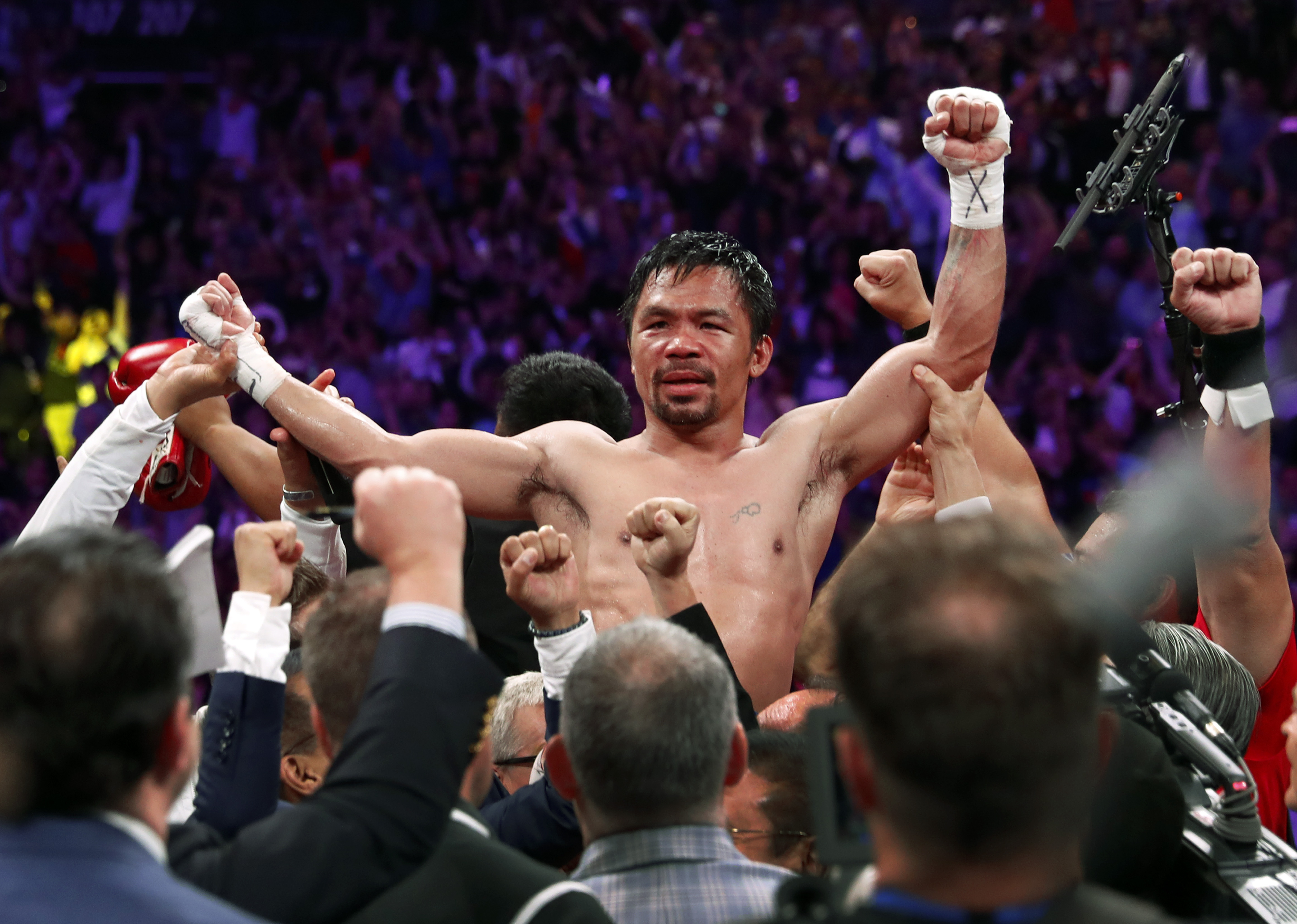 Manny Pacquiao Just Challenged Asian Haters to 'Fight Me Instead'