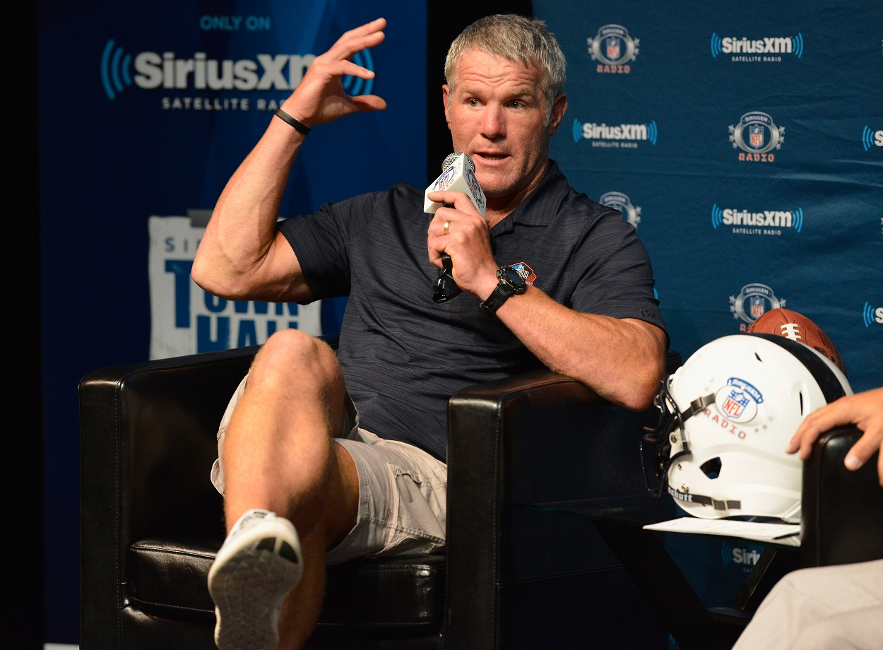NFL Legend Brett Favre Vents That He Doesn't Want Politics in Sports