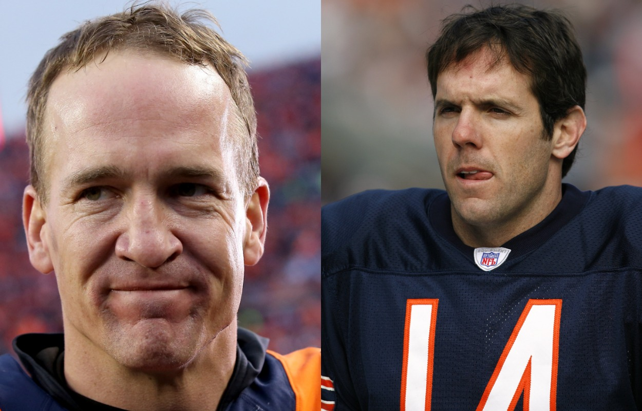 A Hall of Fame Head Coach Admitted He Would Have Selected Brian Griese Over Peyton Manning In the 1998 NFL Draft