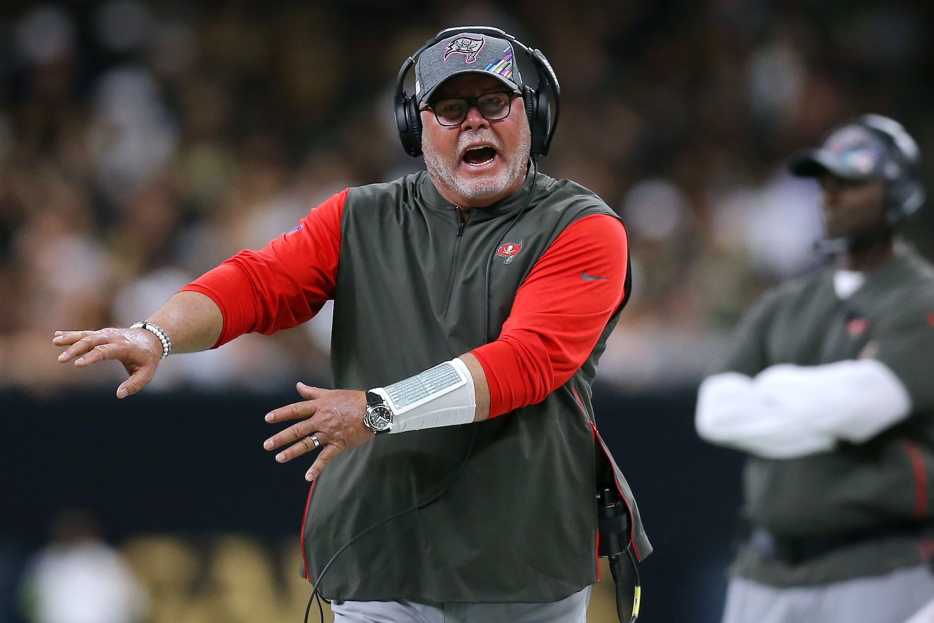 Bruce Arians Put the Entire Tampa Bay Buccaneers Roster on Notice Ahead of the 2021 NFL Season: 'This Team Hasn't Done Sh*t'