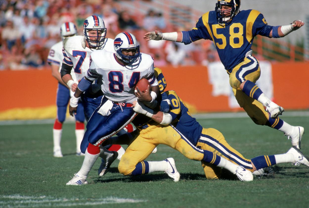 Former Buffalo Bills tight end Buster Barnett.