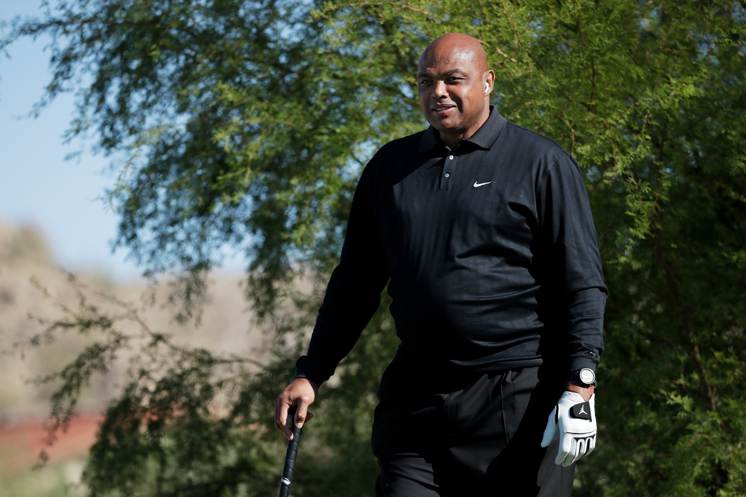 TNT basketball analyst Charles Barkley broke away from NCAA Tournament talk to criticize both major political parties over their handling or race relations in the United States. |Cliff Hawkins/Getty Images for The Match