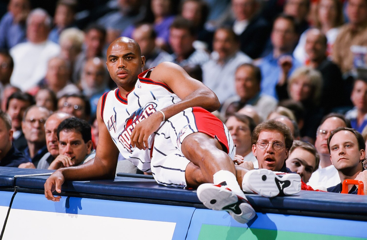 Former 76ers, Suns, and Rockets star Charles Barkley.