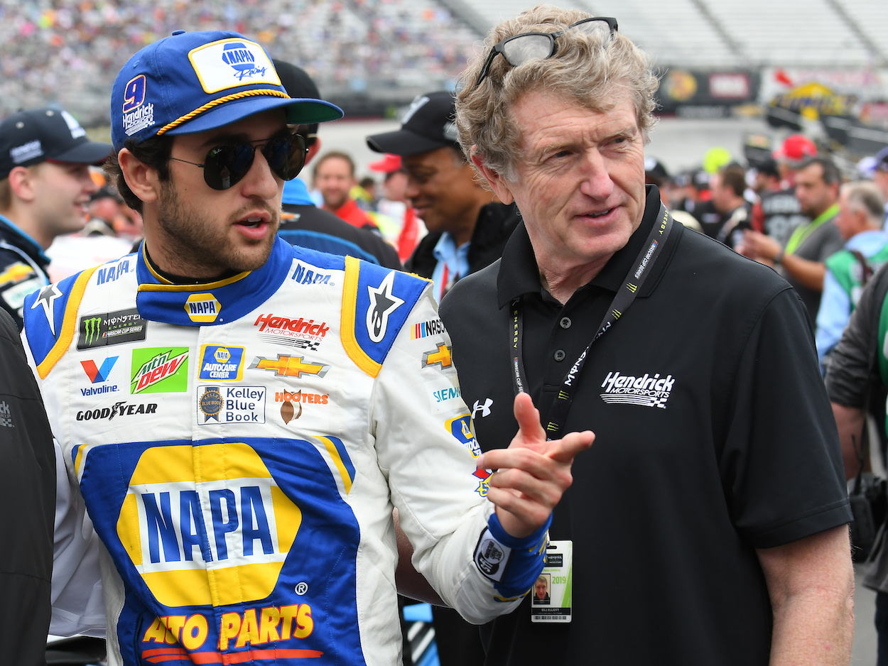 Chase Elliott Is a Star but Will Never Match His Dad's Record Set at Talladega for Fastest Speed in NASCAR History