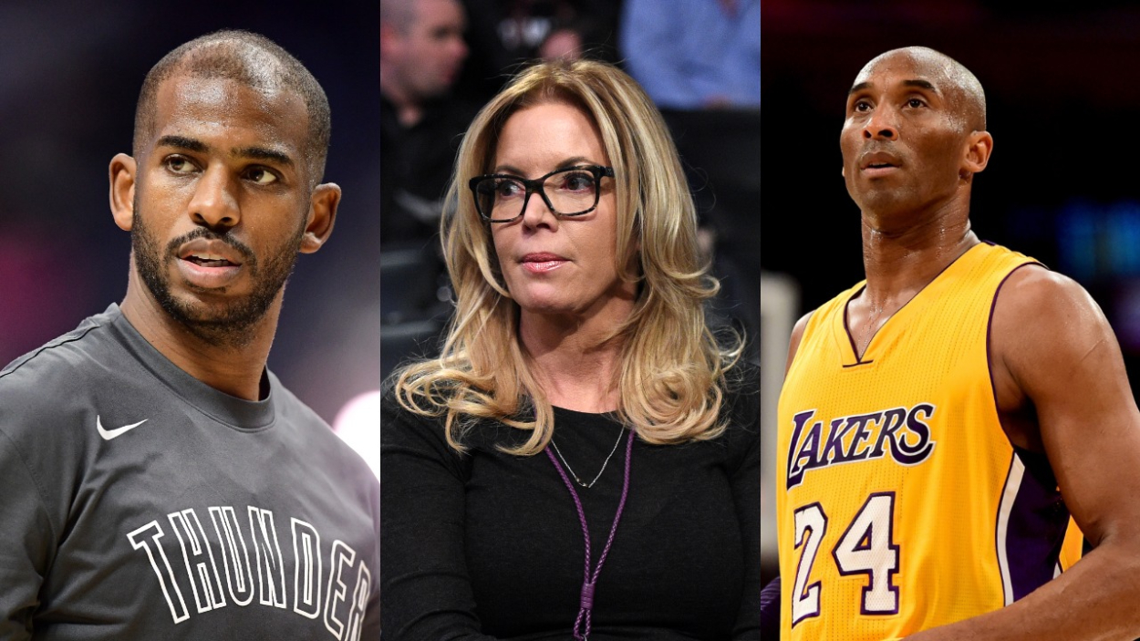 Lakers Owner Jeanie Buss Finally Reveals Why the NBA Kept Chris Paul and Kobe Bryant From Teaming up Together on the Lakers