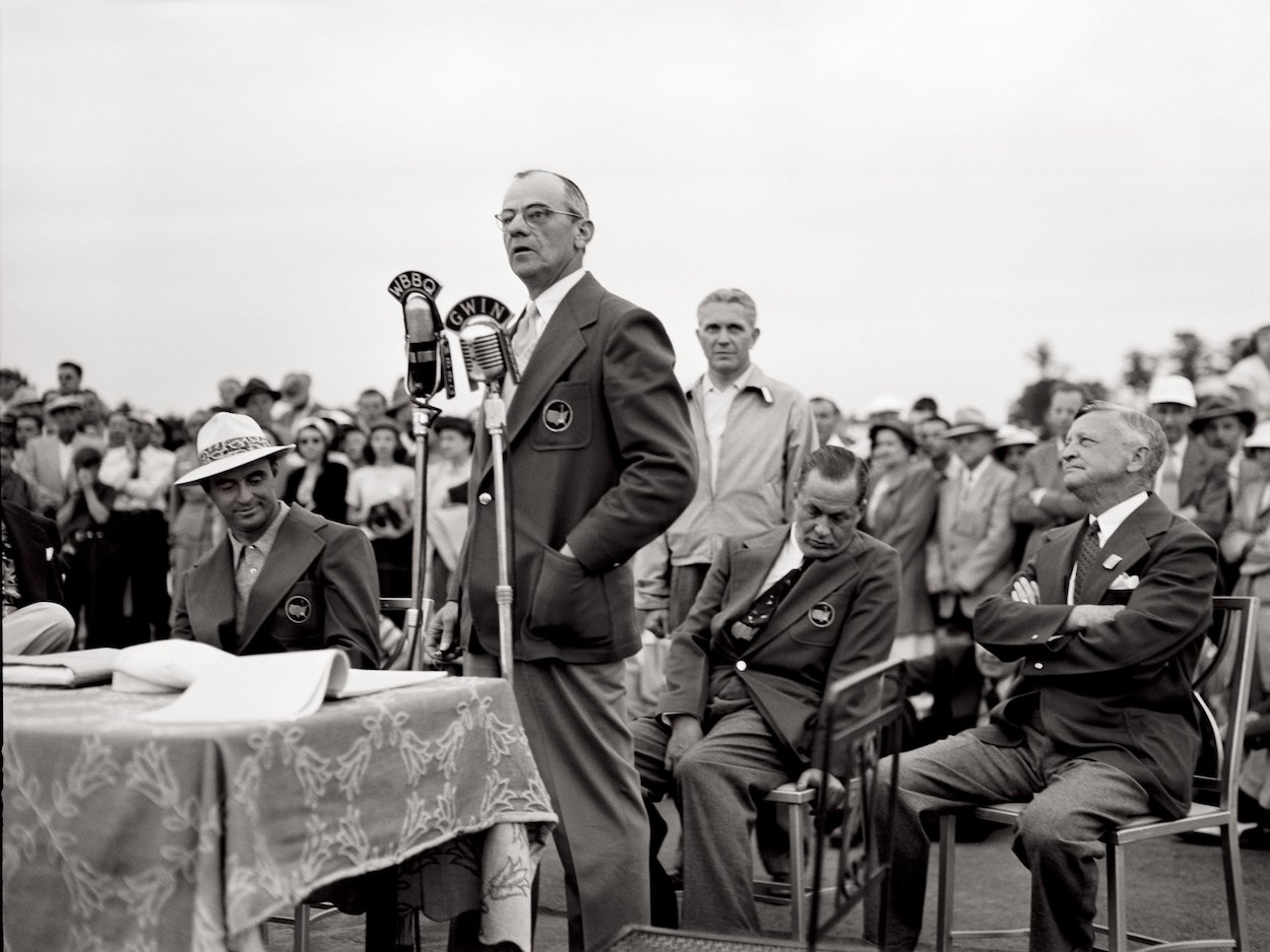 Clifford Roberts co-founded Augusta National and the Masters with Bobby Jones, and when it became his time, he took his own life on the course.