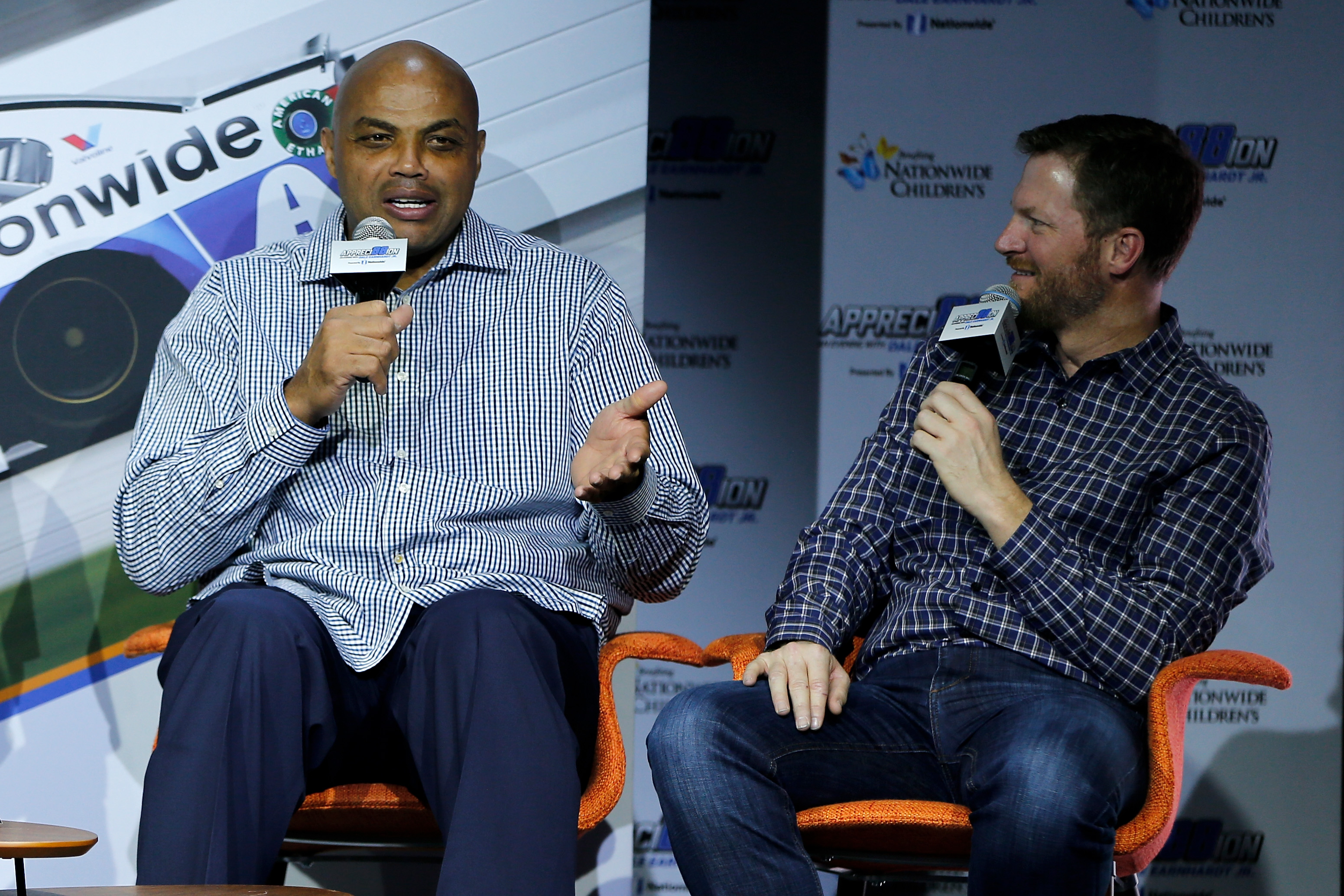 Dale Earnhardt Jr. Once Raced Charles Barkley and Explained How It Went: 'He Wasn't Turrible'