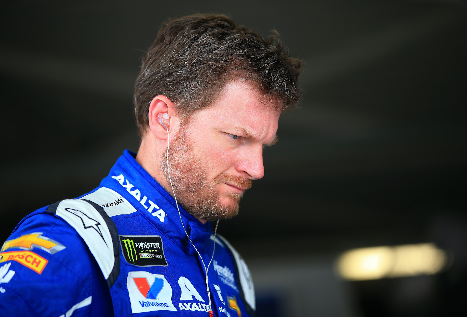 NASCAR star Dale Earnhardt Jr. during the 2017 Cup Series campaign.