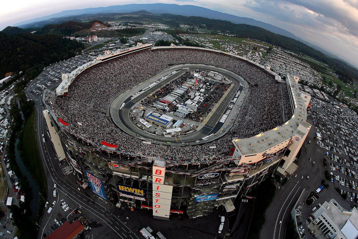 Dale Earnhardt learned on podcast about big changes for Bristol Motor Speedway