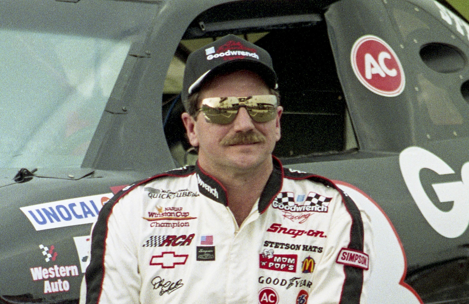Dale Earnhardt was a seven-time NASCAR Cup Series champion and the model for Tom Cruise's rival in 'Days of Thunder.'