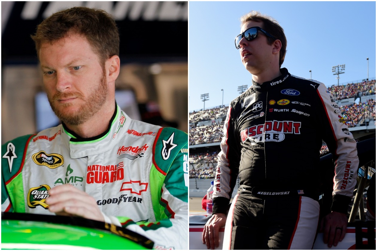 Dale Earnhardt Jr. Gave Brad Keselowski His Big Break in NASCAR