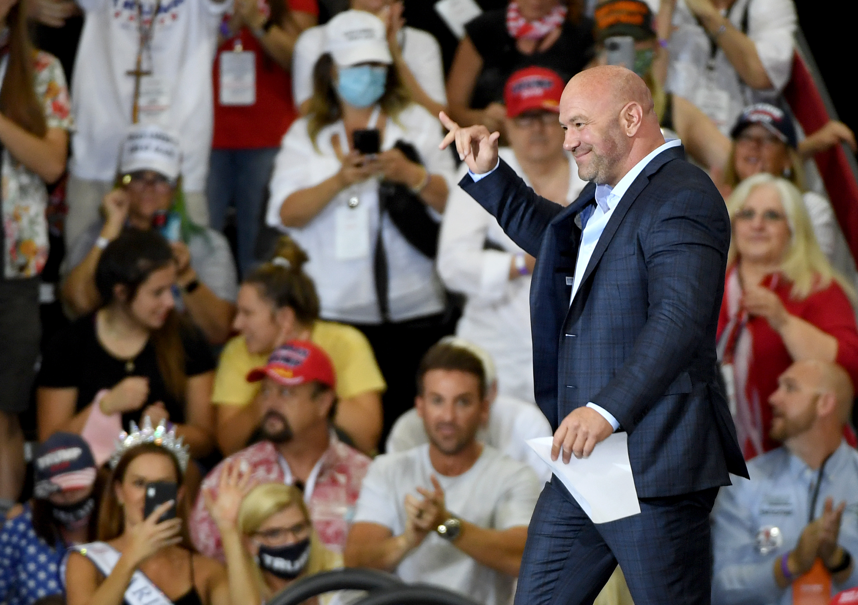Dana White Blasts Jake Paul During Expletive-Filled Rant Ahead of UFC 261