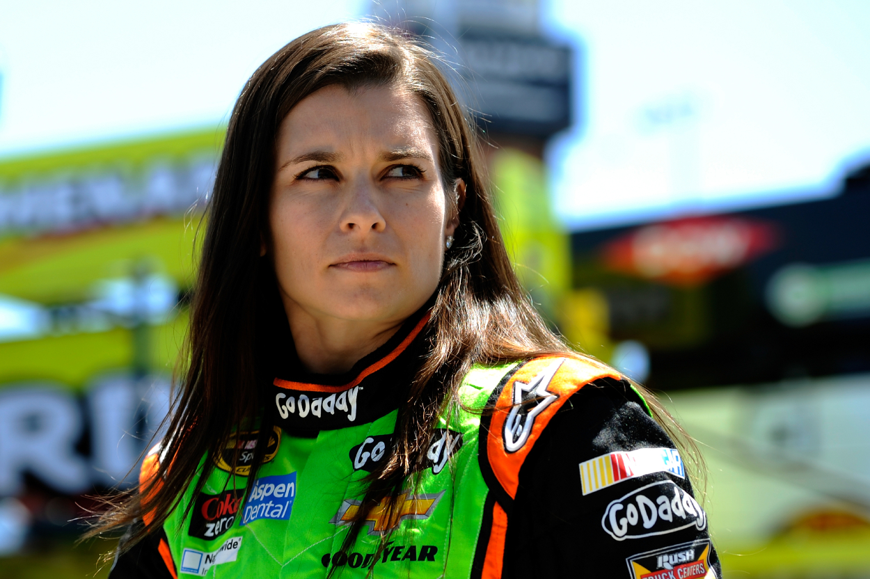 """Danica Patrick was once blasted by Kyle Petty and told to """"get thicker skin."""""""
