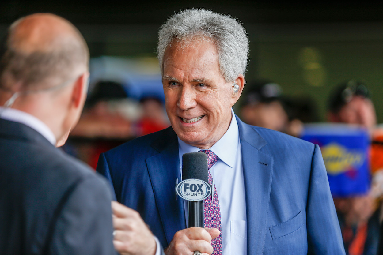 NASCAR and broadcast legend Darrell Waltrip