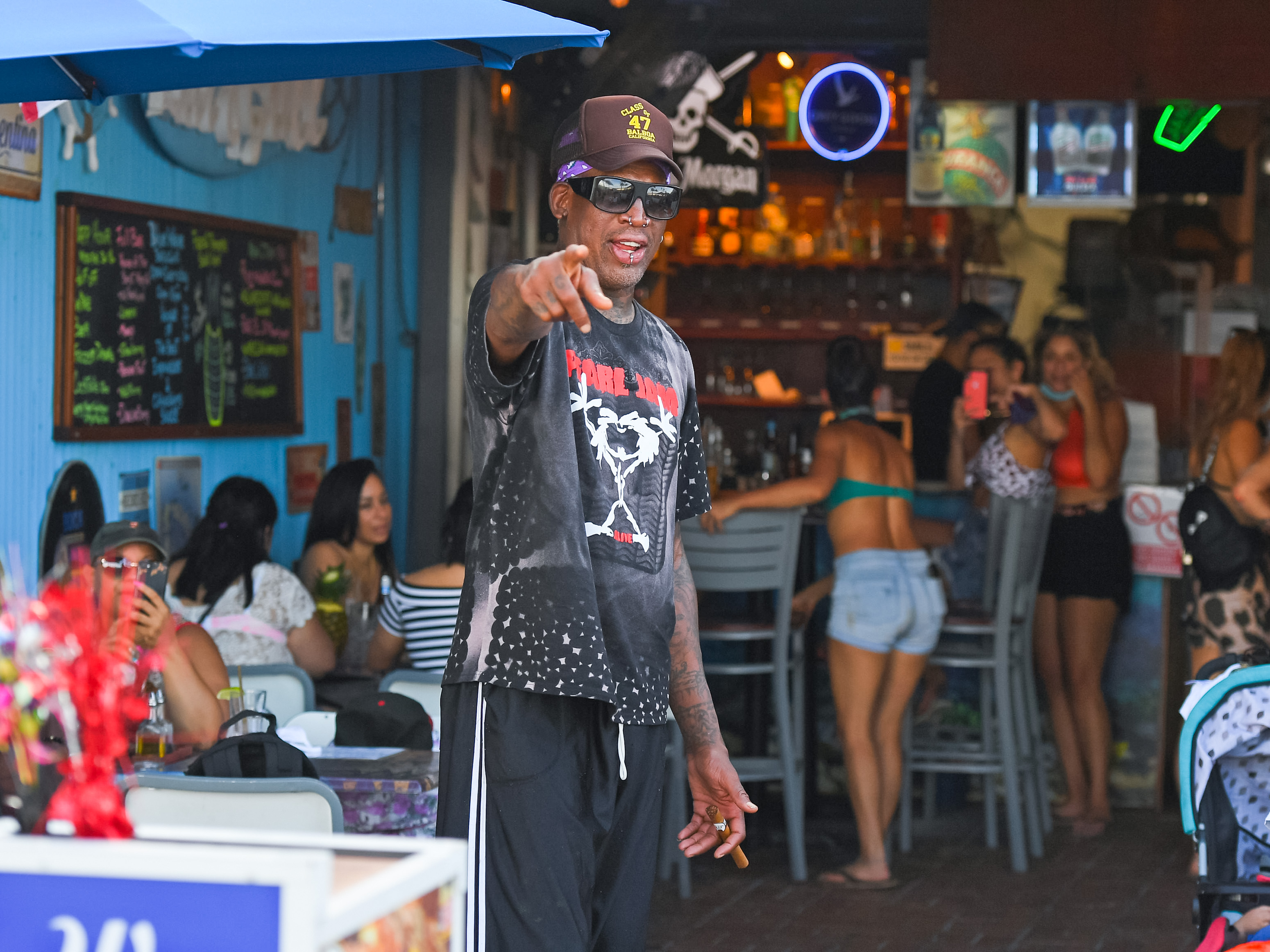 Dennis Rodman Helped an Unlikely Friend Overcome a Devastating Shooting Death and Avoid Racism