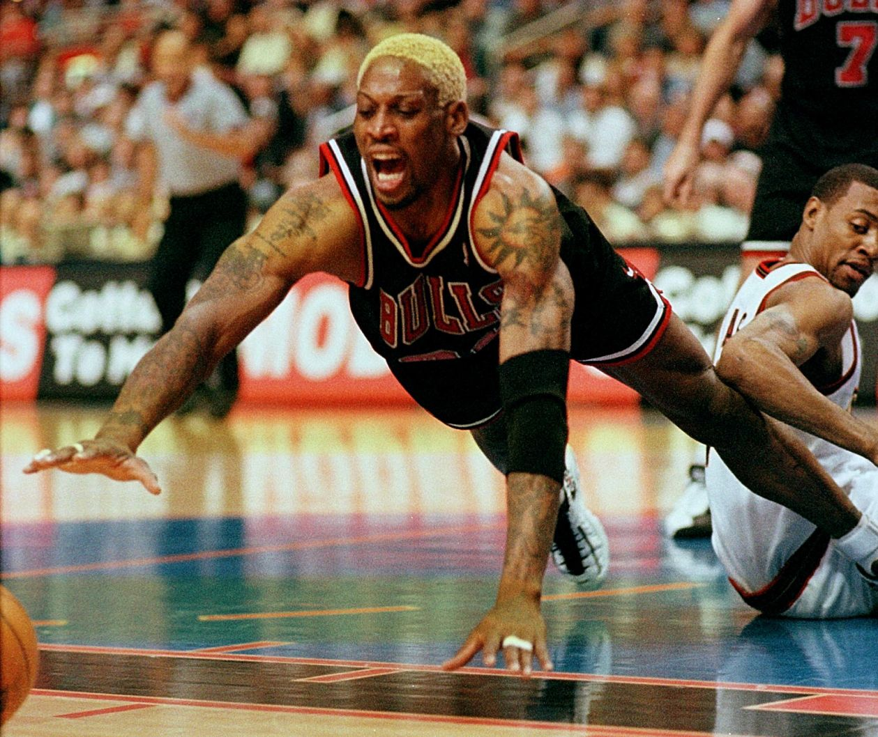 Chicago Bulls legend Dennis Rodman.
