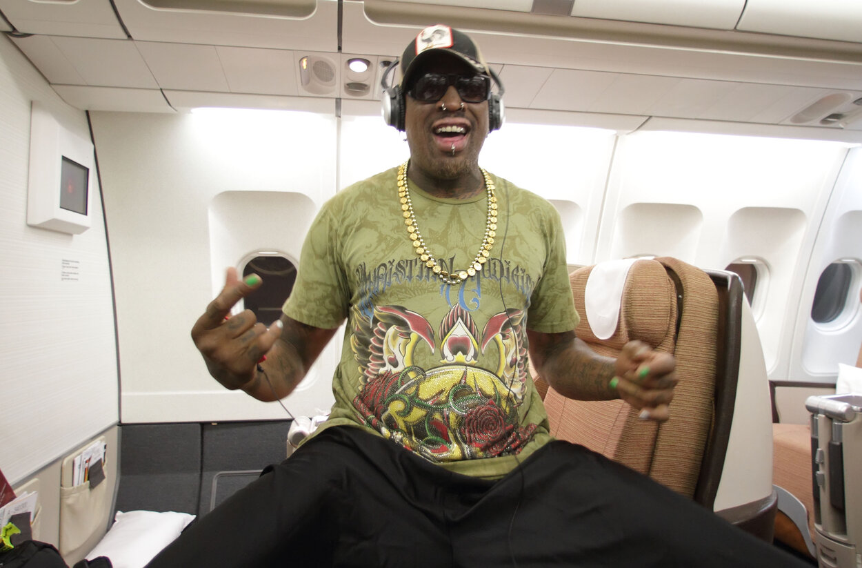 Dennis Rodman Pocketed $80,000 When He Tried His Hand at Being a Professional Basketball Head Coach