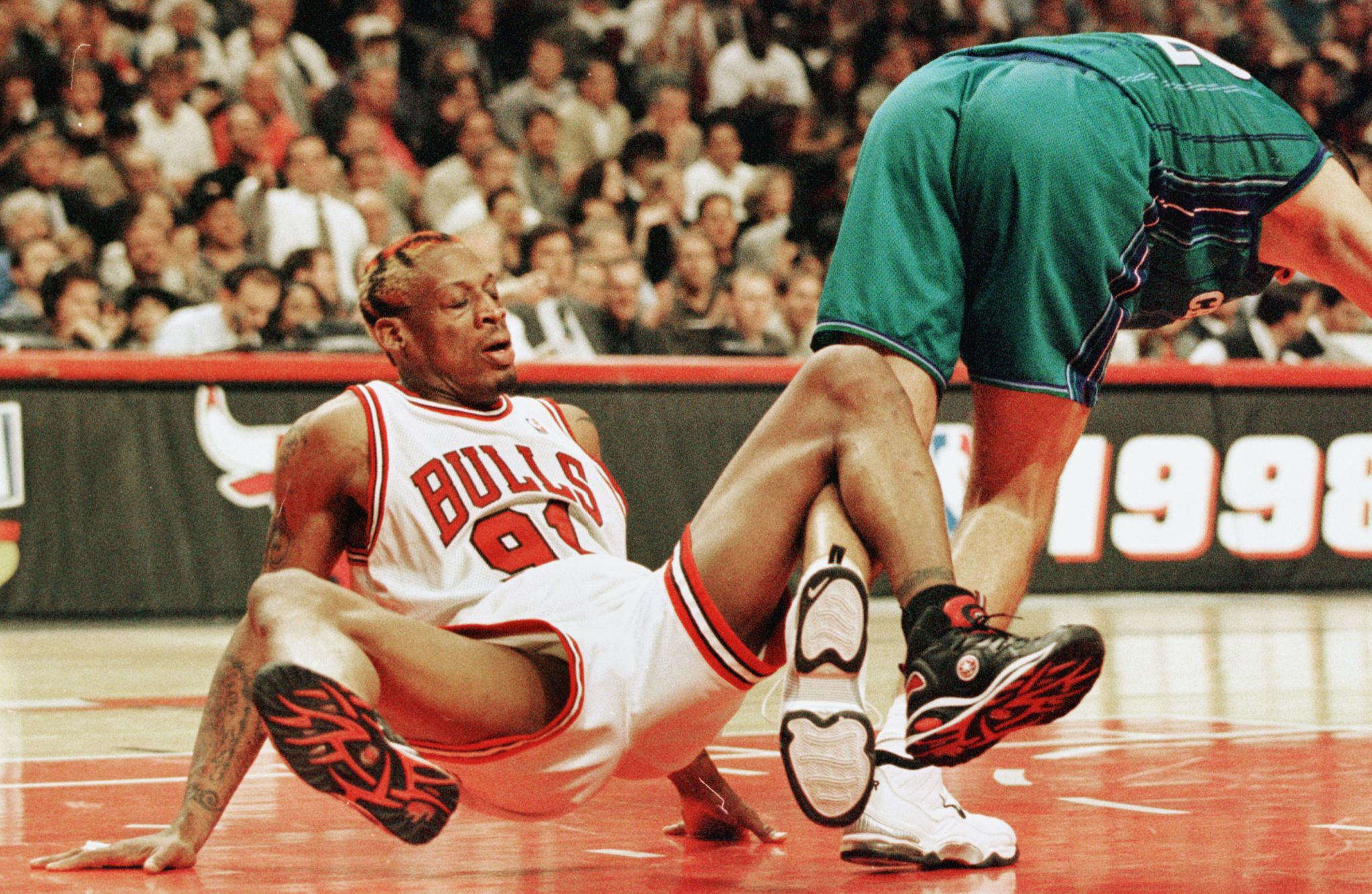 Dennis Rodman Once Made a Racist Comment About Larry Bird but Nobody Realized Where He Went After That