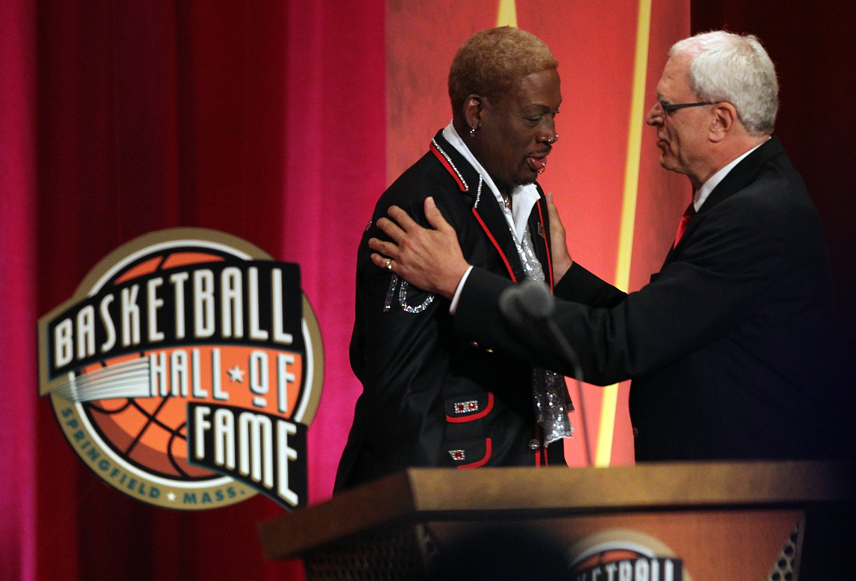 Dennis Rodman Emotionally Addressed His Mother, Father, Kids in Powerful Hall of Fame Speech