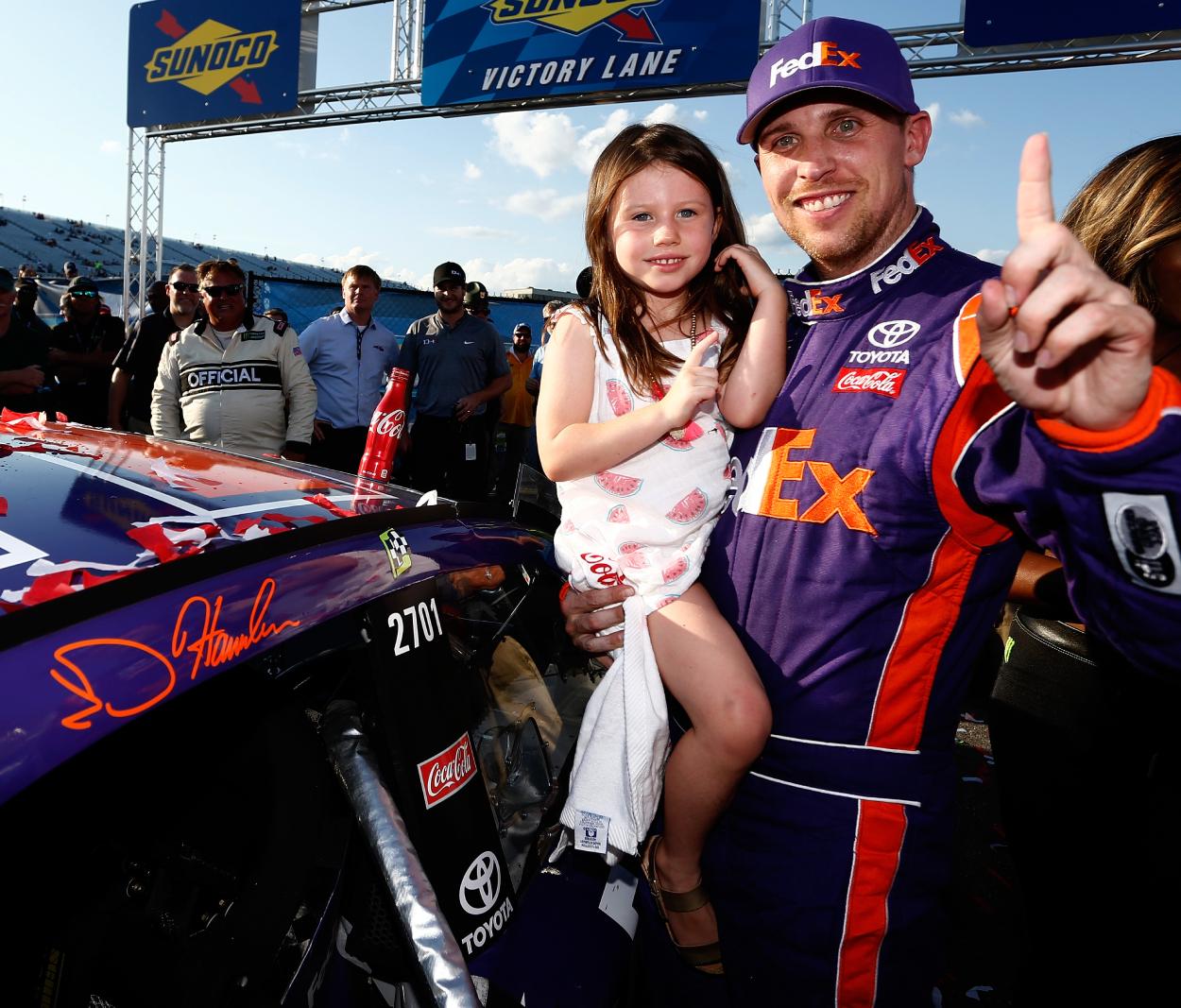Denny Hamlin is one of NASCAR's best.