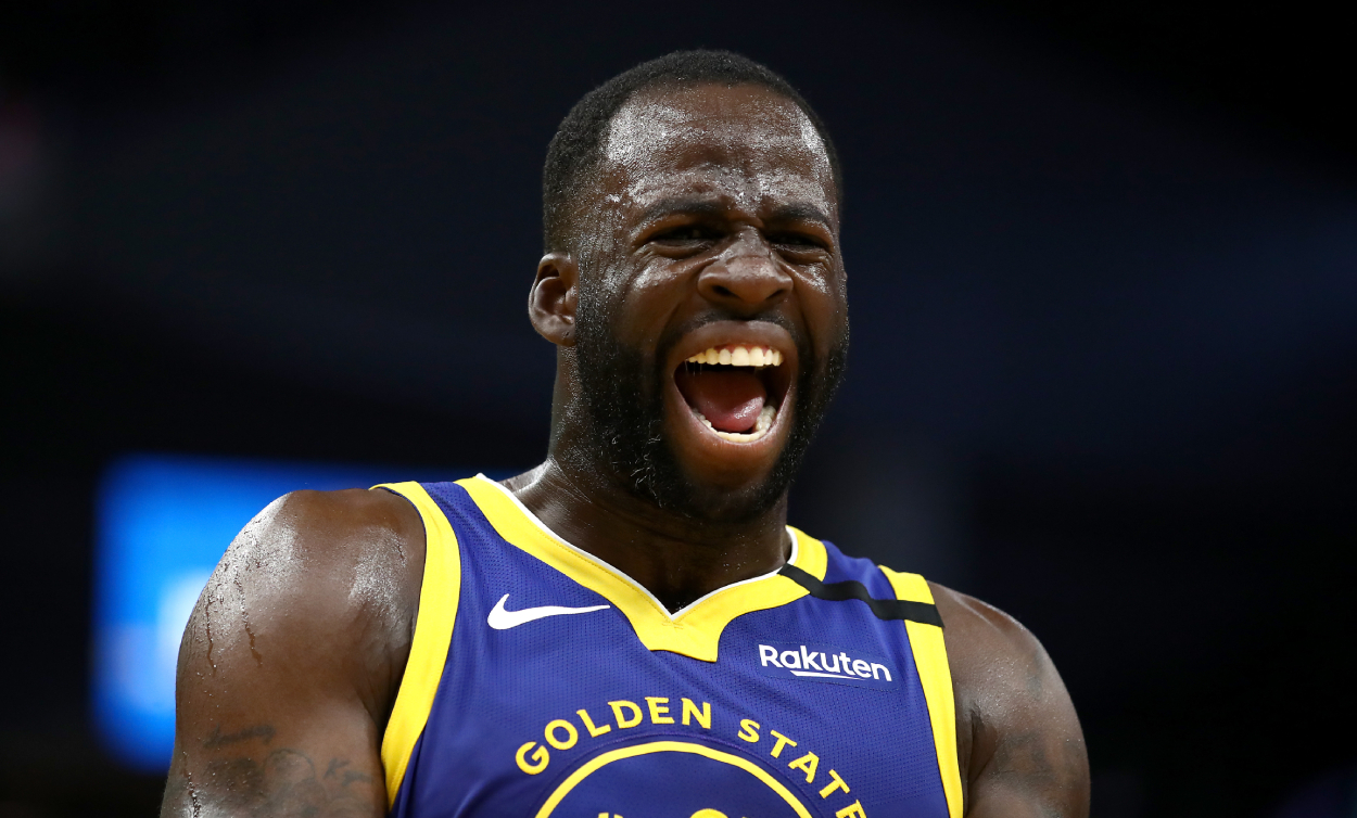 Warriors star Draymond Green who recently made controversial comments about the WNBA.