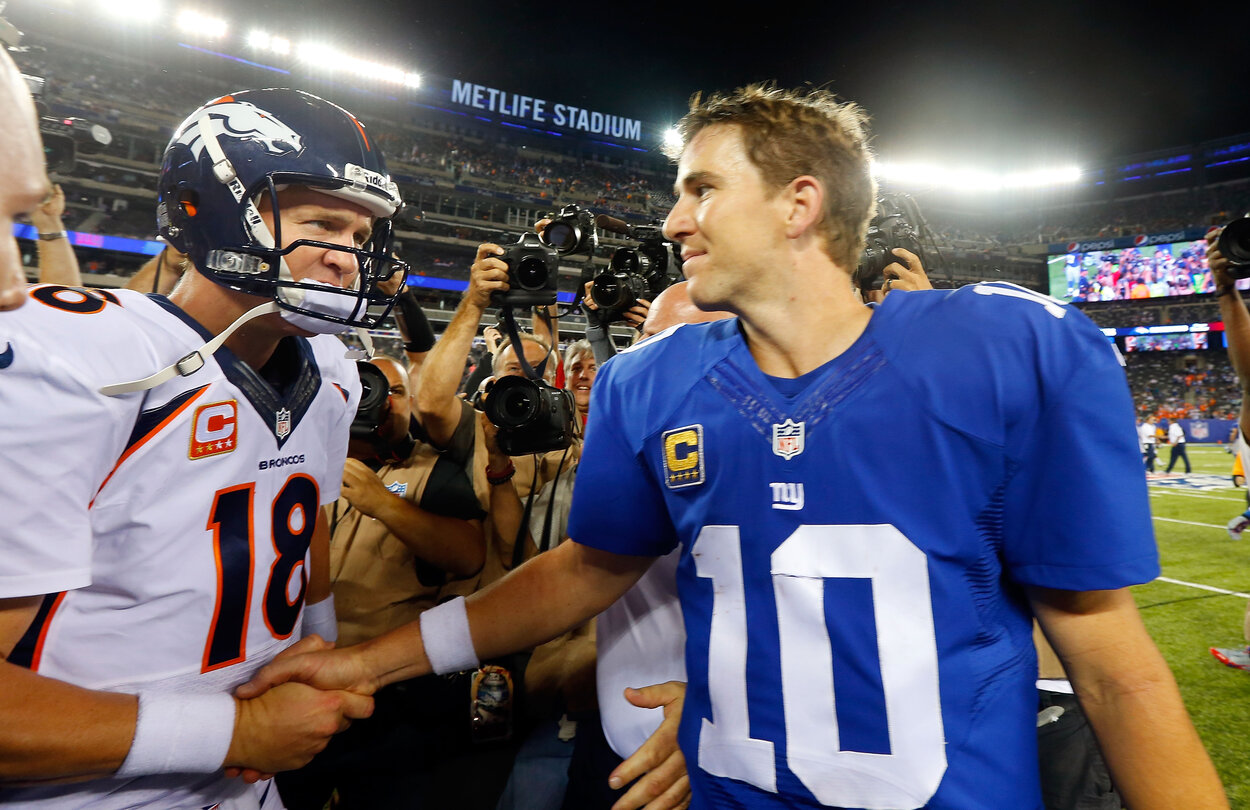 Peyton and Eli Manning Now Finally Have an Opportunity to Be Teammates