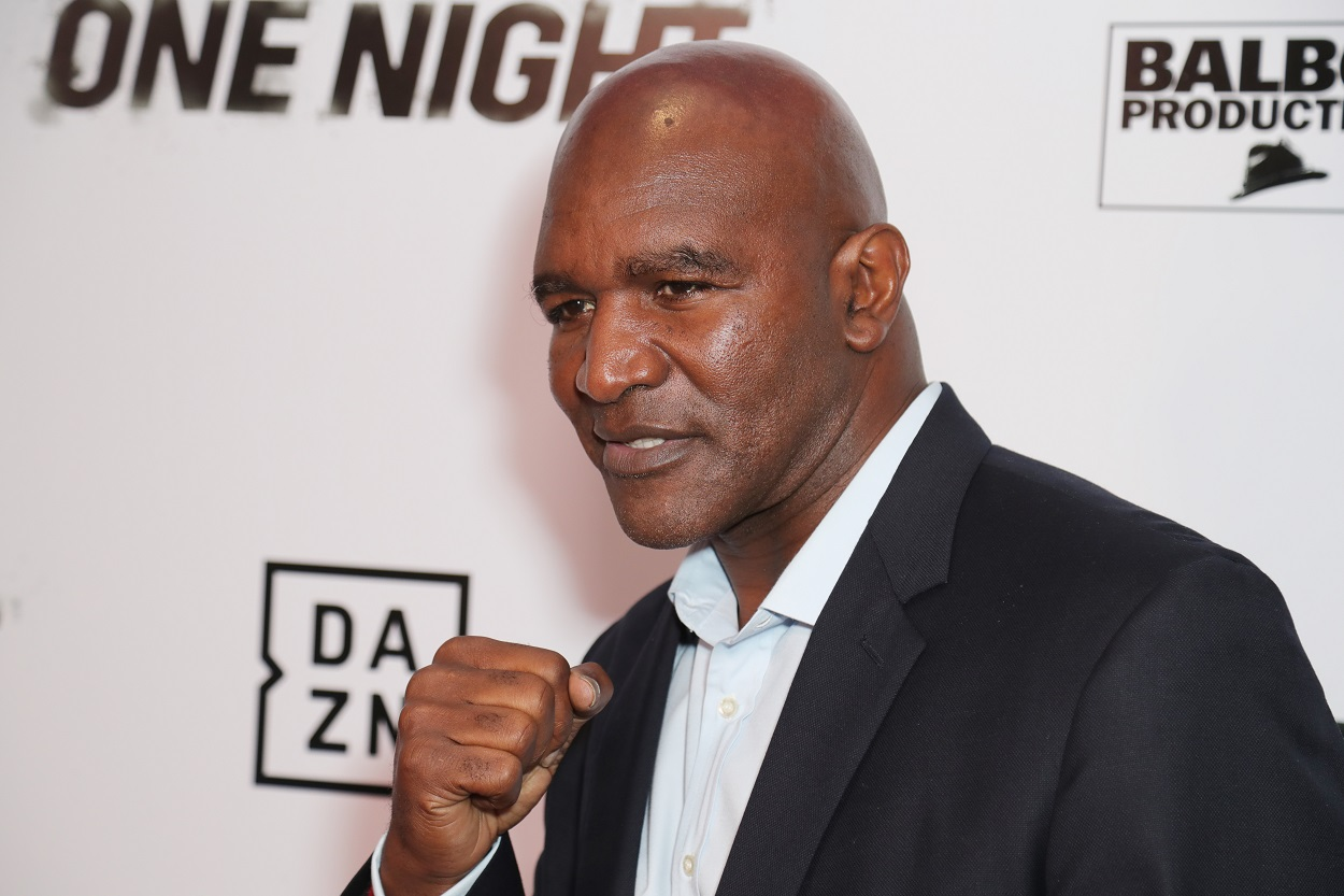 Evander Holyfield Is Stepping Back Into the Ring to Face the Guy Who Sent Mike Tyson Into Retirement
