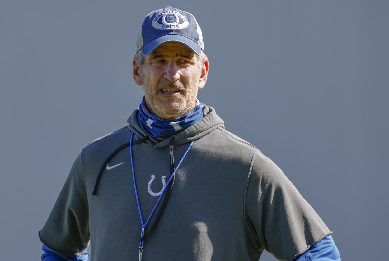 Indianapolis Colts head coach Frank Reich in 2020.