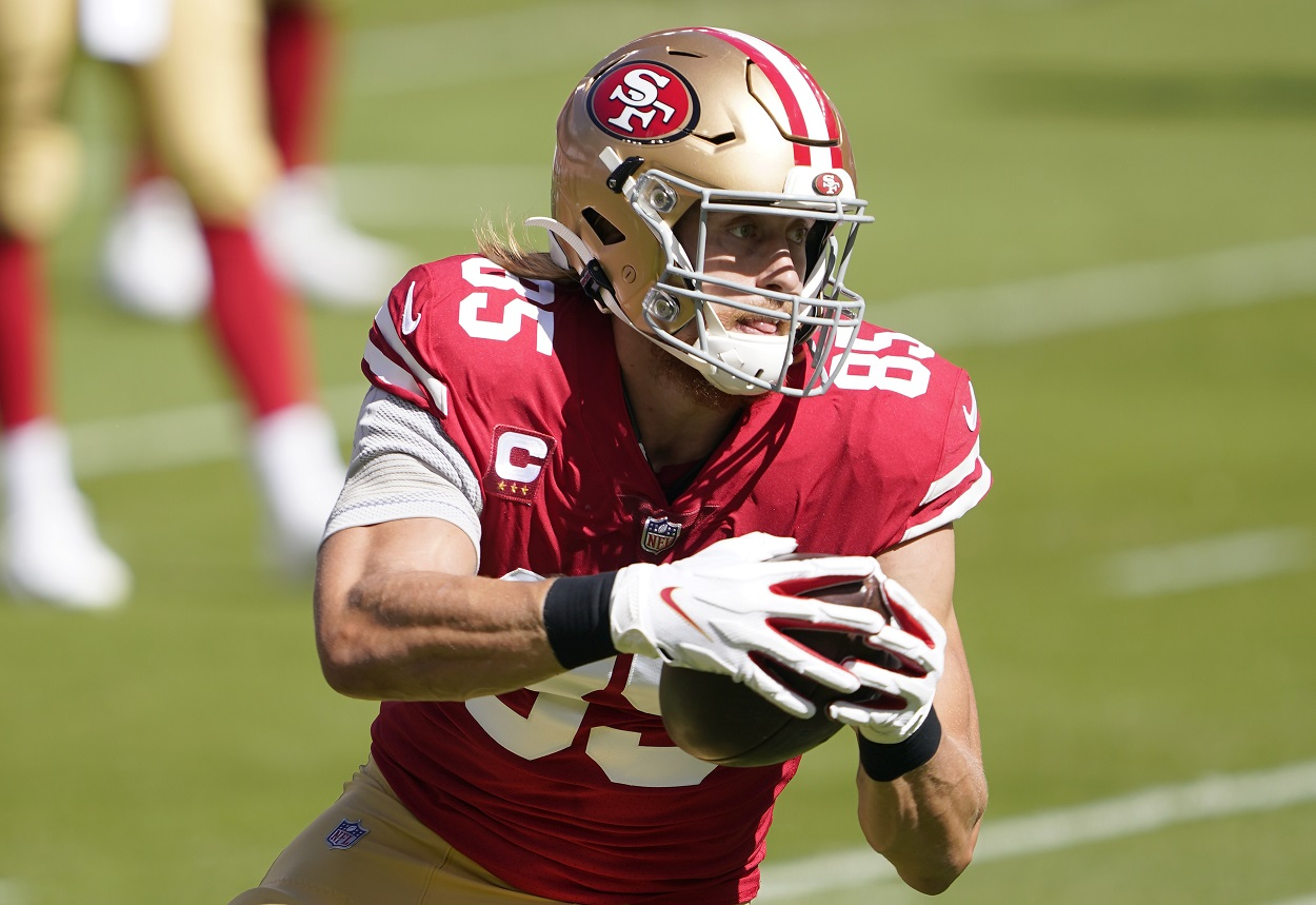 49ers Tight End George Kittle Was Mere Minutes From Catching Passes From Russell Wilson With the Seahawks