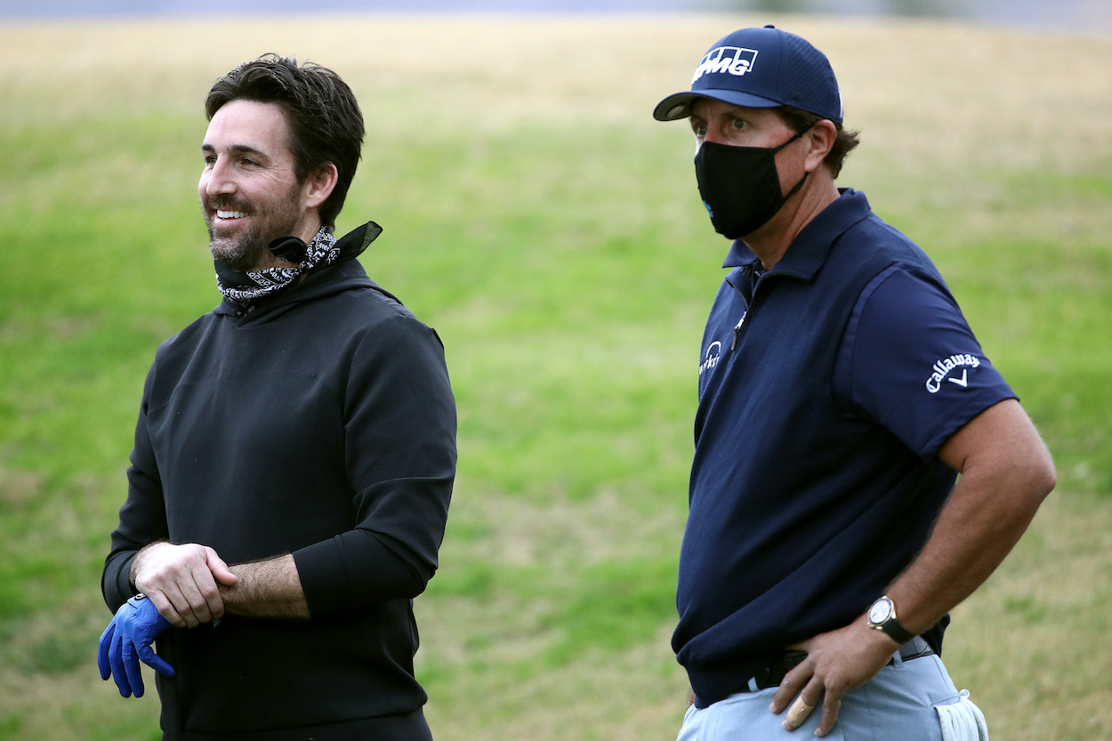 Phil Mickelson had the perfect response to country music star Jake Owen complaining about losing $29.99 and four hours of his life.