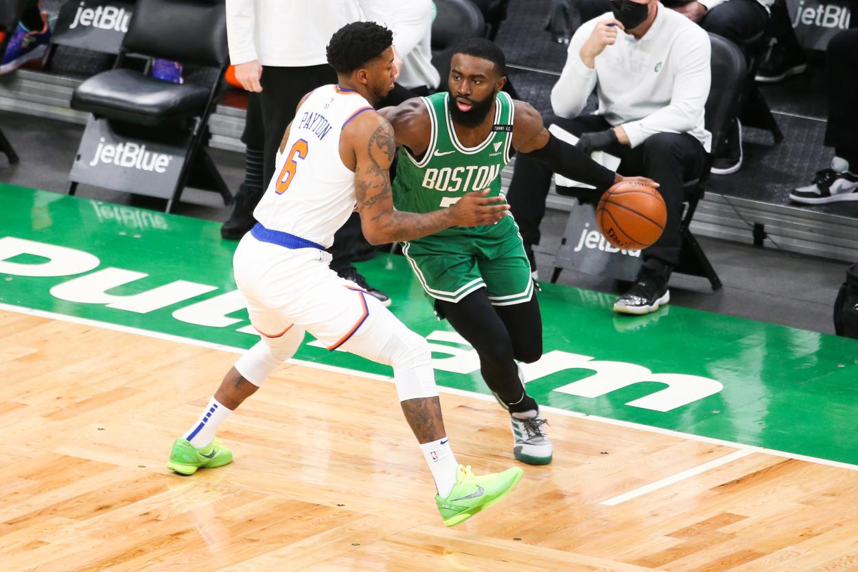 Did a Frustrated Jaylen Brown Take a Shot at Boston Celtics coach Brad Stevens?