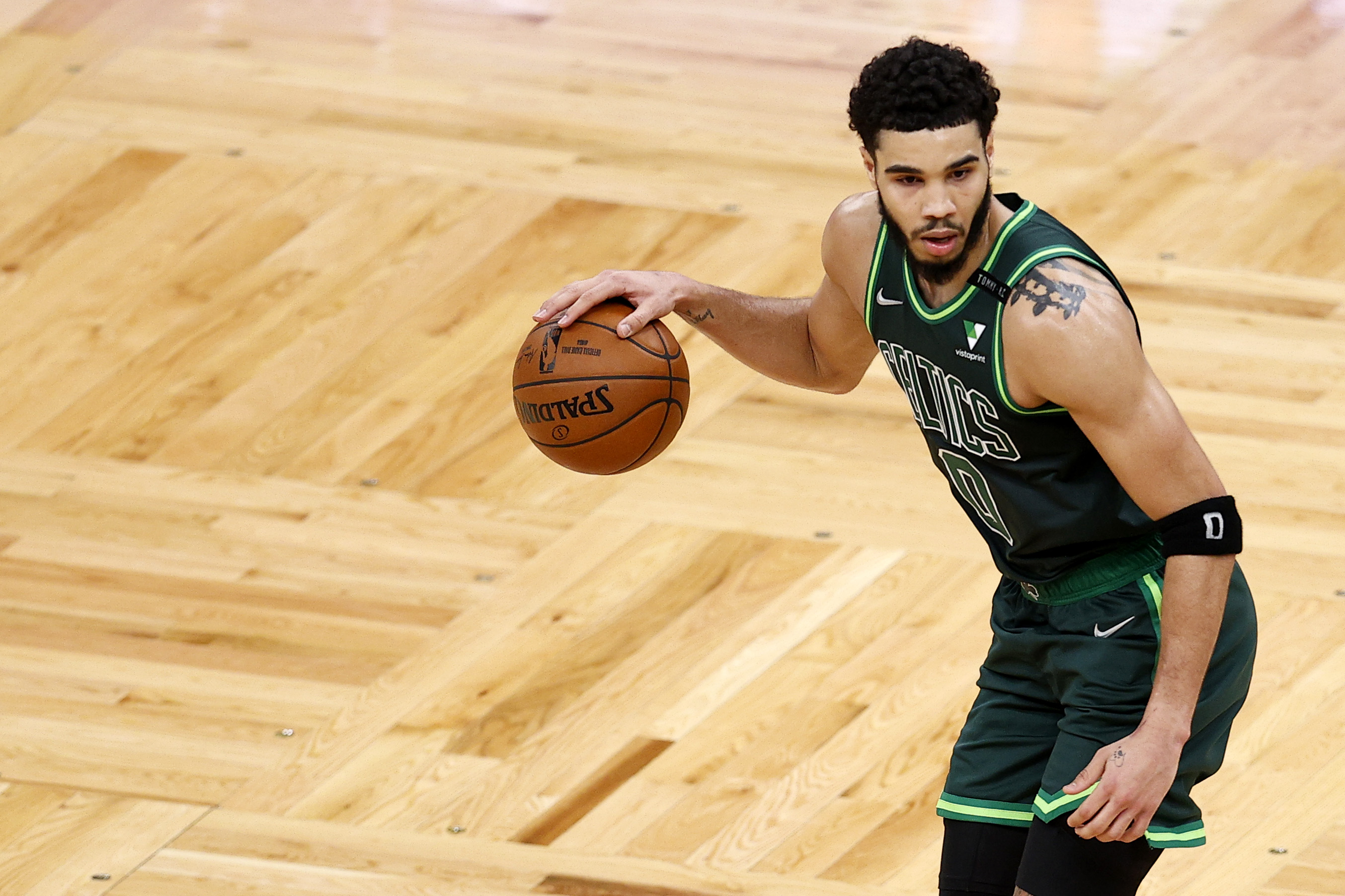 Jayson Tatum is putting up big numbers in a tough season for the Boston Celtics.