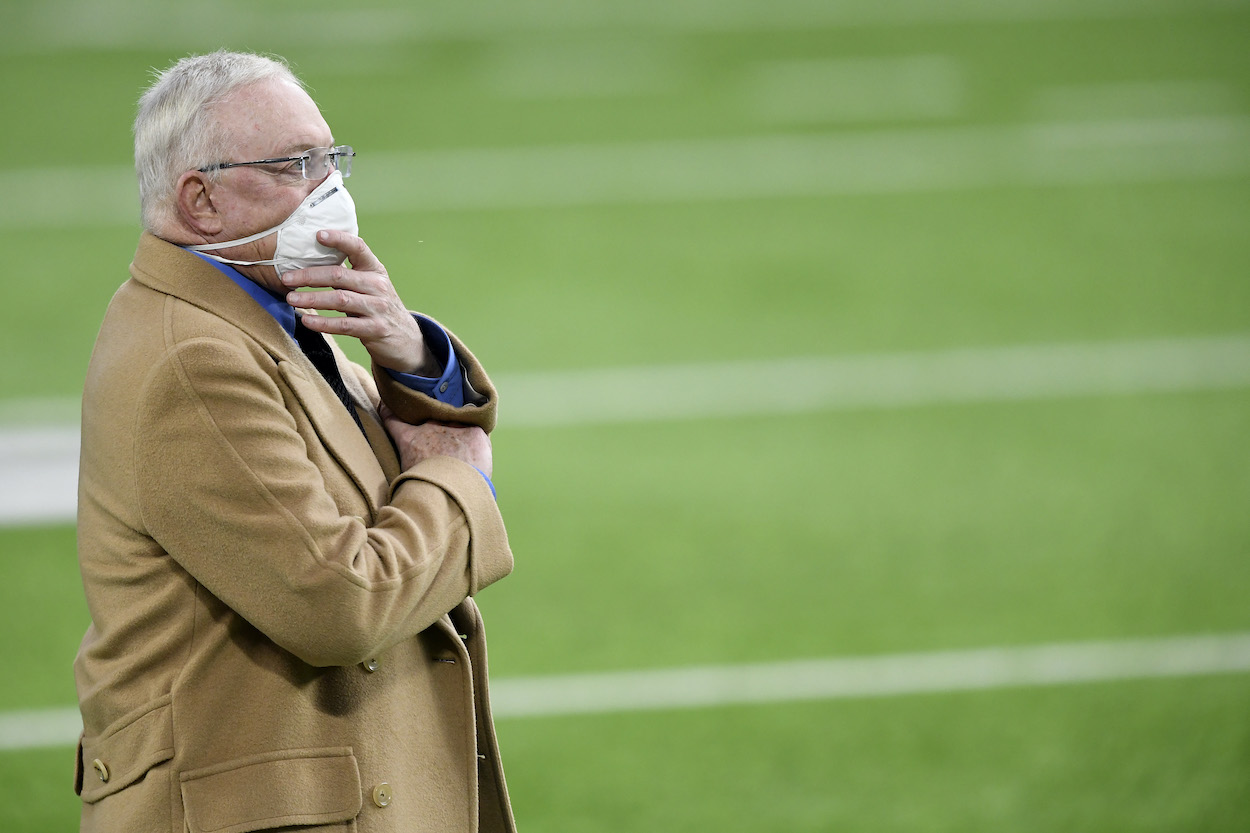 Dallas Cowboys owner and GM Jerry Jones