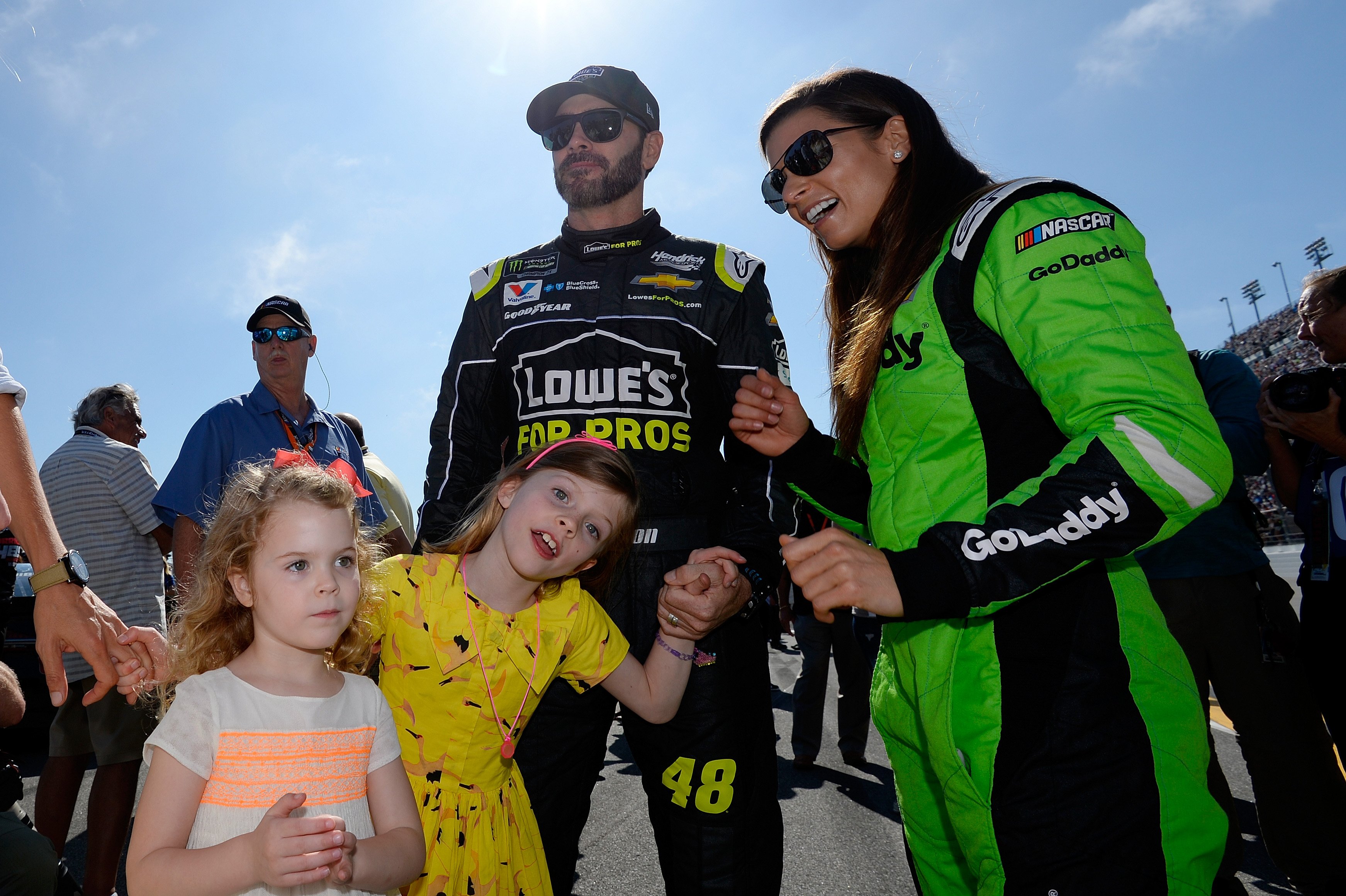 Jimmie Johnson understands why Danica Patrick had to bite her tongue when heading to NASCAR