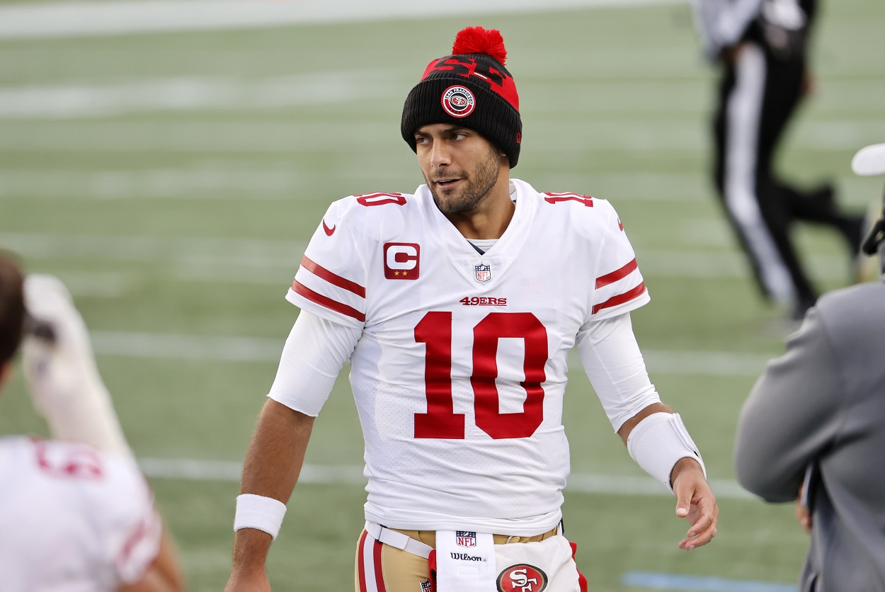 Jimmy Garoppolo May Finally End His 49ers' Dilemma With Help From a Familiar Place