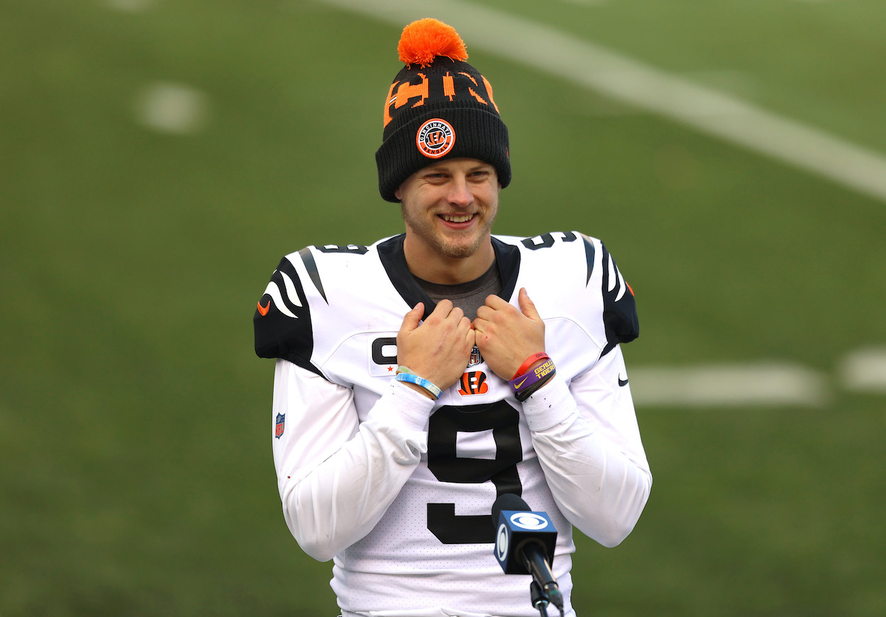Bengals QB Joe Burrow Provides Cris Collinsworth a 'Very Optimistic' Update About His Knee Injury and Return Date