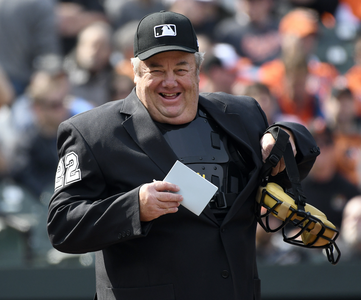 Famed MLB umpire Joe West was just awarded $500,000 in a defamation lawsuit against former New York Mets catcher Paul Lo Duca.