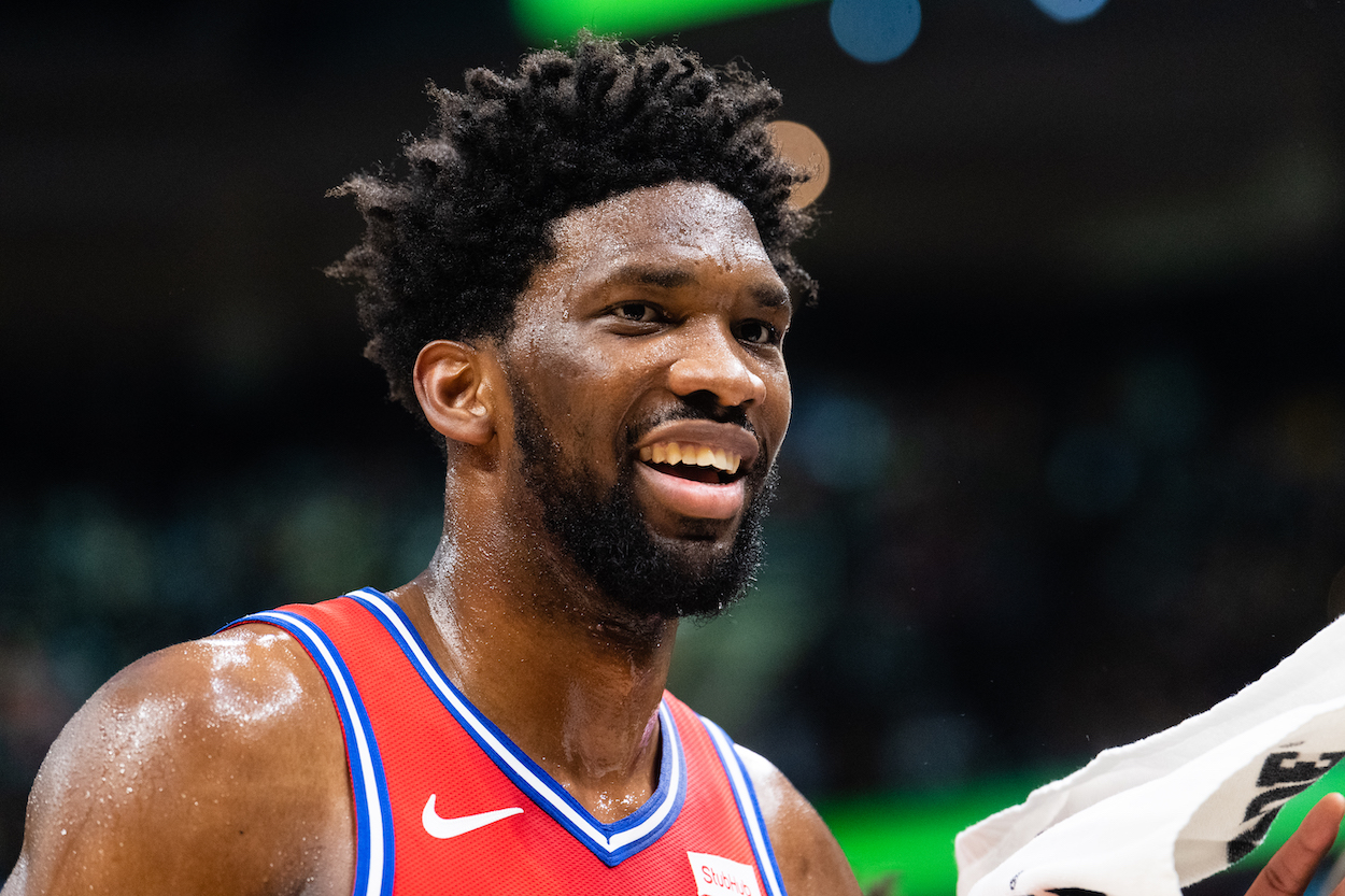 Joel Embiid Claimed He Killed a Lion at 6 Years Old to Prove He Was a Man: 'It Was an Easy Job'