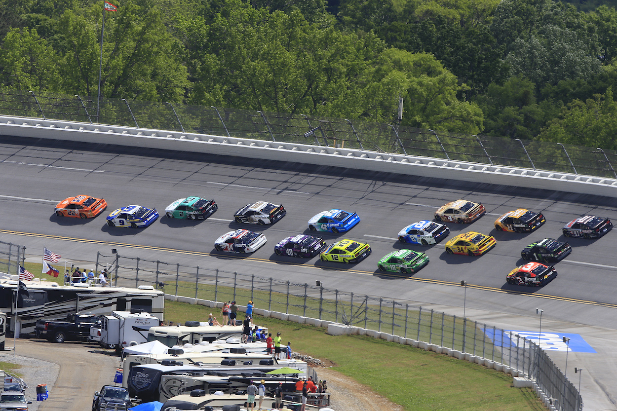 Talladega Weekend Marred by 2 Horrific Accidents, Including Joey Logano Going Airborne and Fiery ARCA Series Crash Where Driver Now on Ventilator in Critical Condition