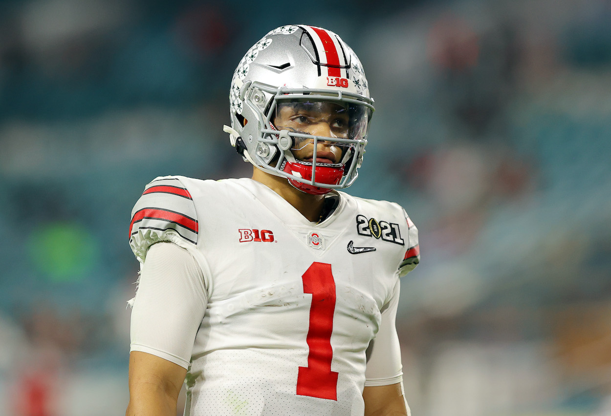 Justin Fields Makes Shocking Revelation About Scary Health Condition He's Battling Ahead of the NFL Draft